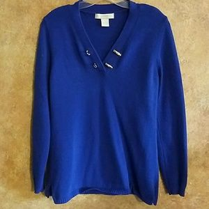 palette Sweaters - Royal Blue Summer Sweater